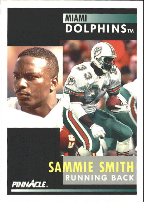 1991 Pinnacle #240 Sammie Smith