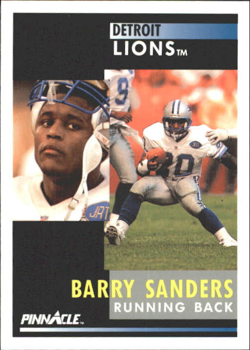 1991 Pinnacle #250 Barry Sanders
