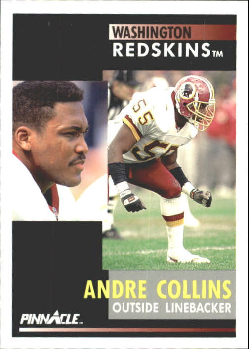 1991 Pinnacle #278 Andre Collins