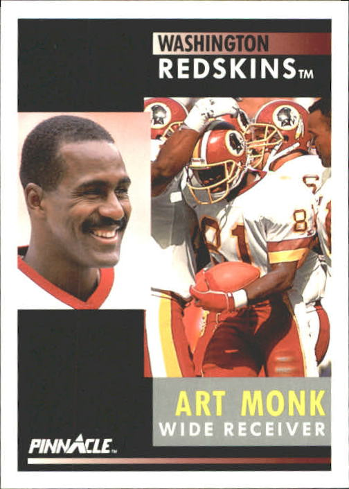 1991 Pinnacle #280 Art Monk