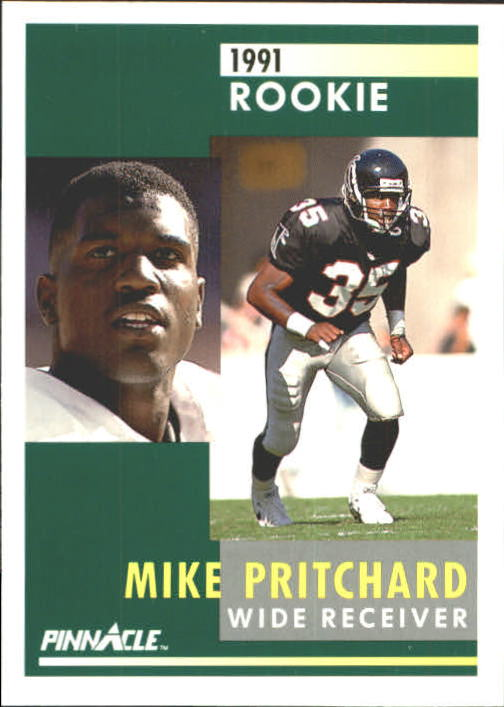 1991 Pinnacle #282 Mike Pritchard RC