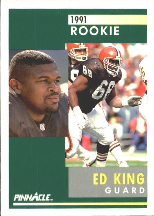 1991 Pinnacle #287 Ed King RC