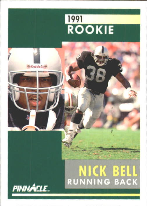1991 Pinnacle #296 Nick Bell RC
