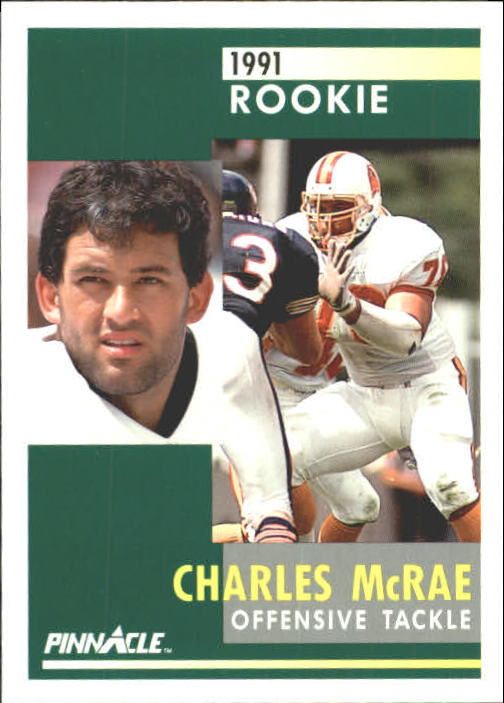 1991 Pinnacle #317 Charles McRae RC