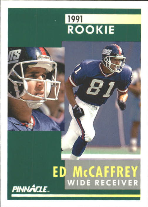 1991 Pinnacle #322 Ed McCaffrey RC