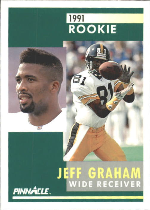1991 Pinnacle #323 Jeff Graham RC