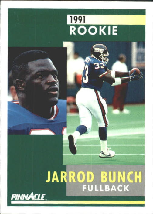 1991 Pinnacle #333 Jarrod Bunch RC