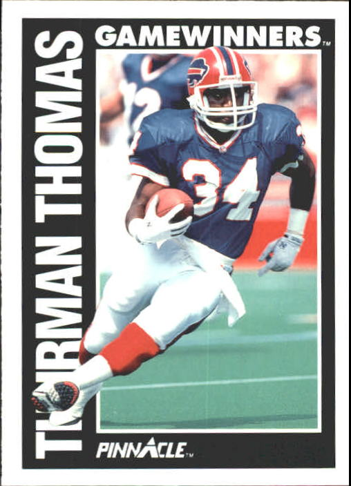 1991 Pinnacle #363 Thurman Thomas GW
