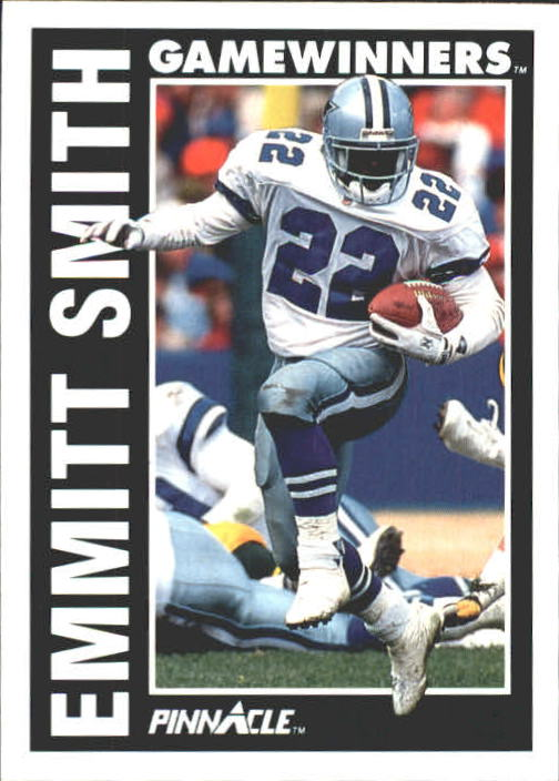 1991 Pinnacle #364 Emmitt Smith GW