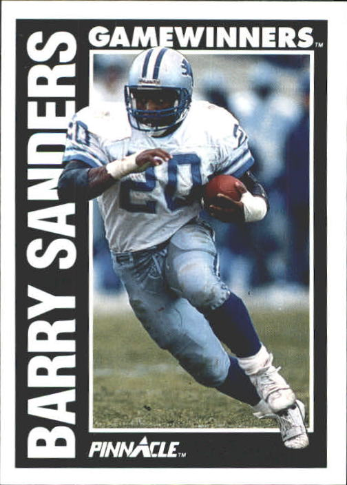1991 Pinnacle #366 Barry Sanders GW