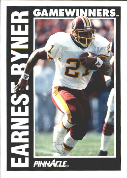 1991 Pinnacle #368 Earnest Byner GW