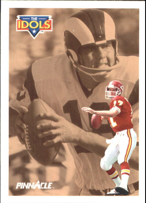 1991 Pinnacle #379 Steve DeBerg IDOL