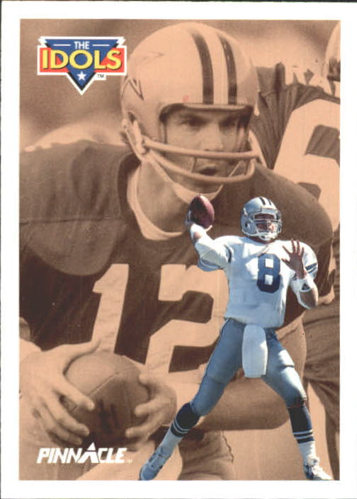1991 Pinnacle #383 Troy Aikman/Staubach ID