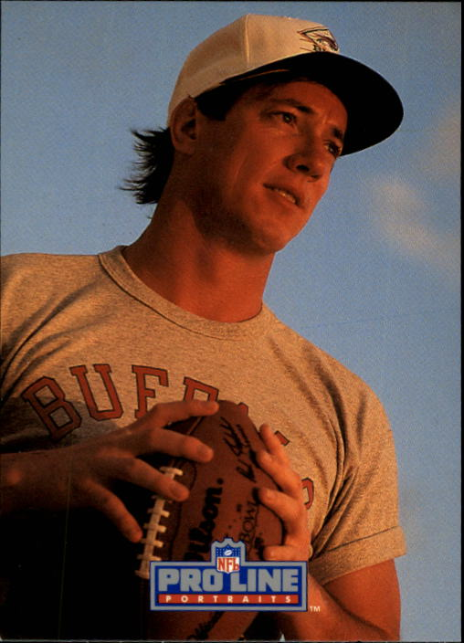 1991 Pro Line Portraits #1 Jim Kelly