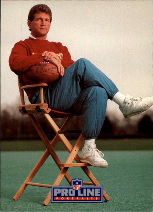 1991 Pro Line Portraits #56 Joe Theismann RET