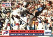 1991 Pro Set #47B Bruce Smith SB/(Official NFL Card in white letters)