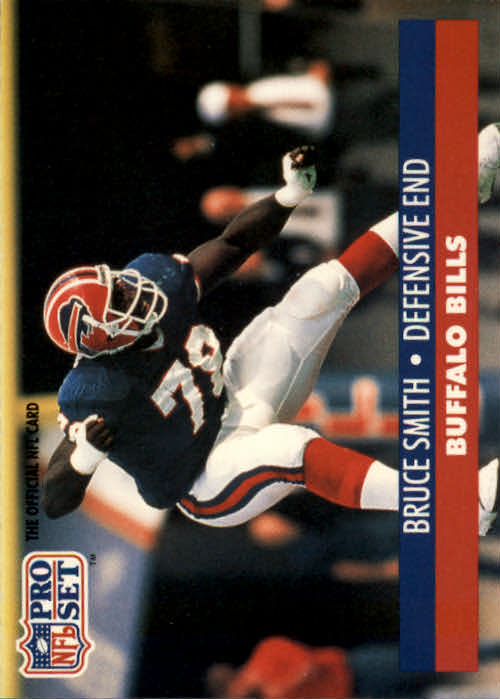 1991 Pro Set #83 Bruce Smith
