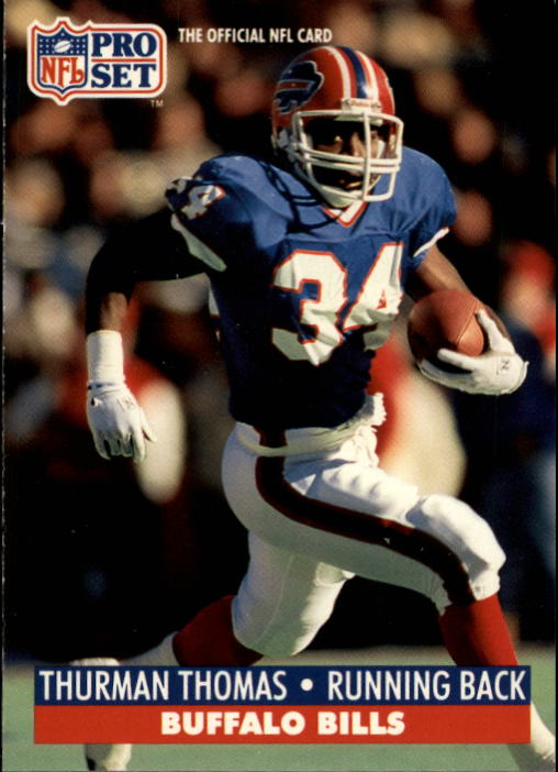 1991 Pro Set #86 Thurman Thomas