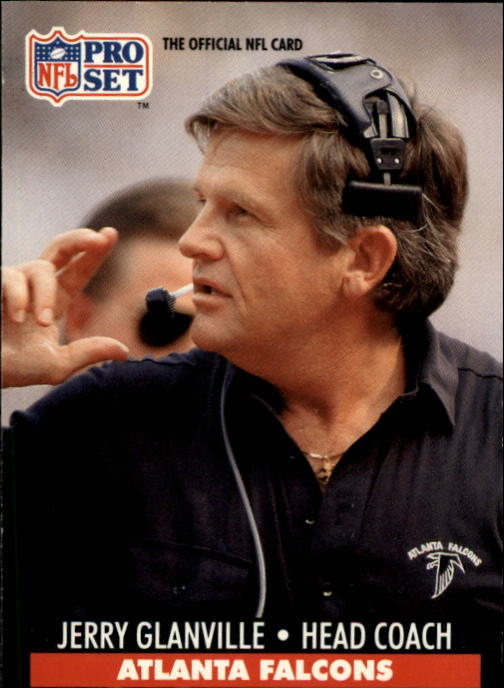 1991 Pro Set #99 Jerry Glanville CO
