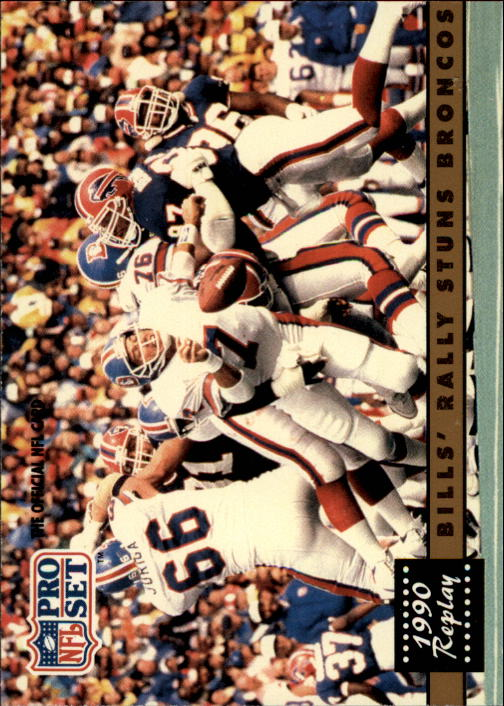 1991 Pro Set #326A John Elway REP/(NFLPA logo on back)