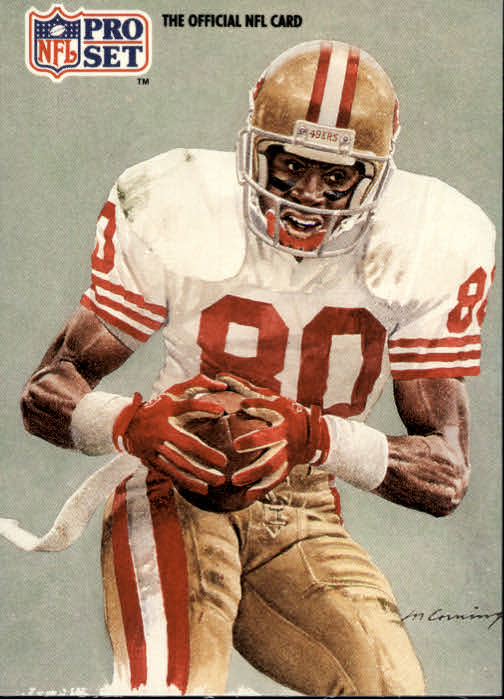 1991 Pro Set #379 Jerry Rice NFC