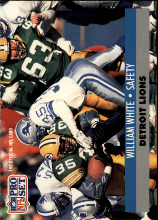 1991 Pro Set #504 William White