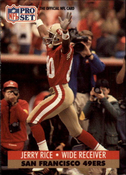 1991 Pro Set #654 Jerry Rice