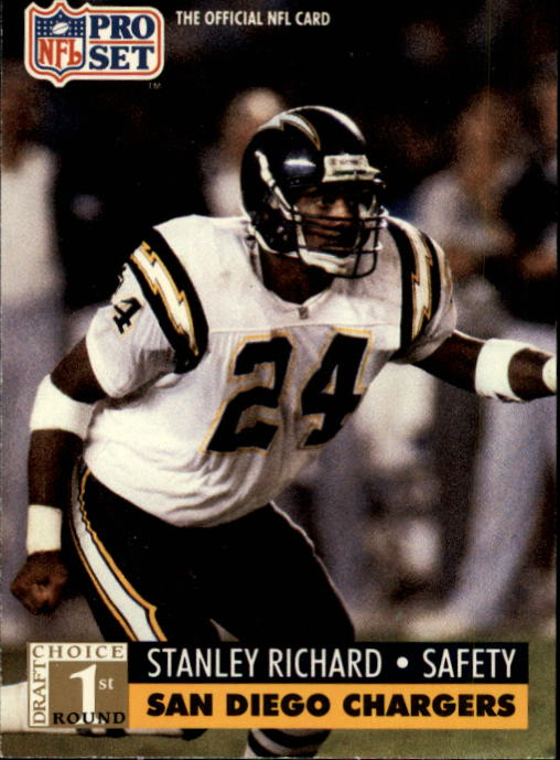 1991 Pro Set #738 Stanley Richard RC