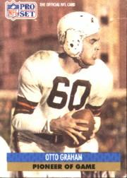 1991 Pro Set #SC4 Otto Graham/Pioneers of the Game