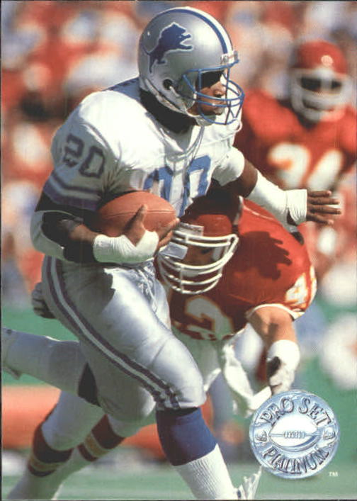 1991 Pro Set Platinum #33 Barry Sanders