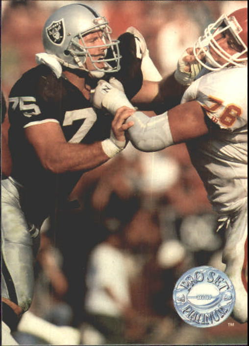 1991 Pro Set Platinum #54 Howie Long