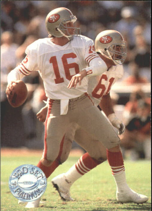1991 Pro Set Platinum #139 Joe Montana PP
