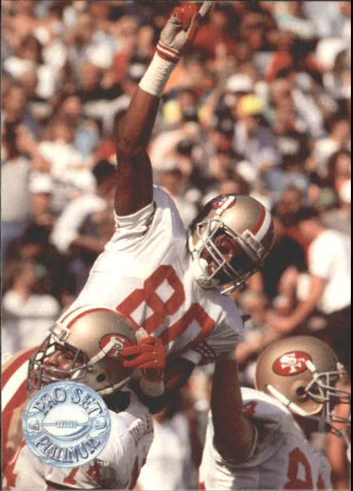 1991 Pro Set Platinum #140 Jerry Rice PP