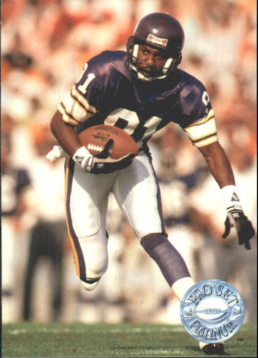 1991 Pro Set Platinum #223 Anthony Carter
