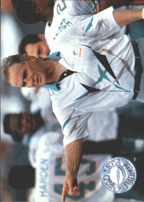 1991 Pro Set Platinum #285 Don Shula CO UER