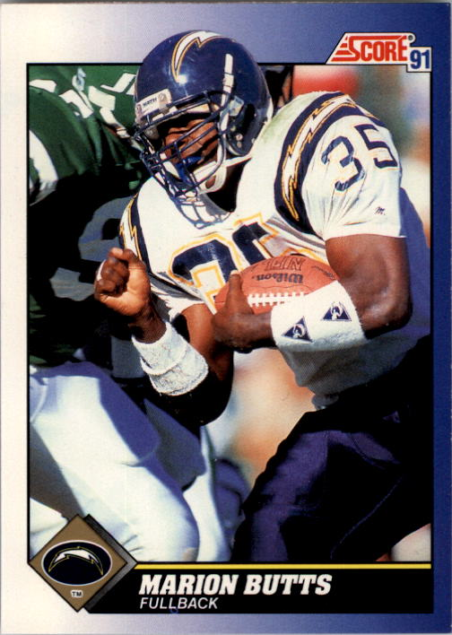 1991 Score #13 Marion Butts