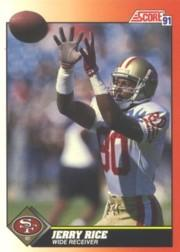 1991 Score #380 Jerry Rice