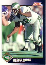 1991 Score #560 Reggie White