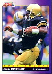 1991 Score #578 Eric Bieniemy RC