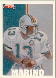 1991 Score #632 Dan Marino TM