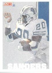 1991 Score #637 Barry Sanders TM