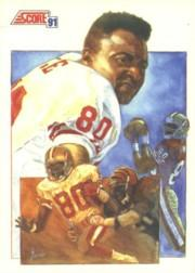 1991 Score #665 Jerry Rice TL