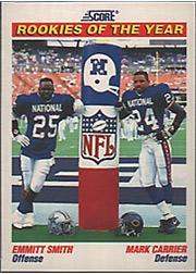 1991 Score #675 Emmitt Smith/Carrier ROY