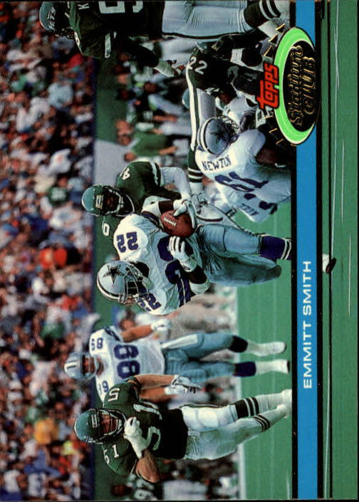 1991 Stadium Club #2 Emmitt Smith