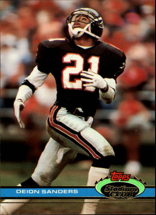 1991 Stadium Club #3 Deion Sanders