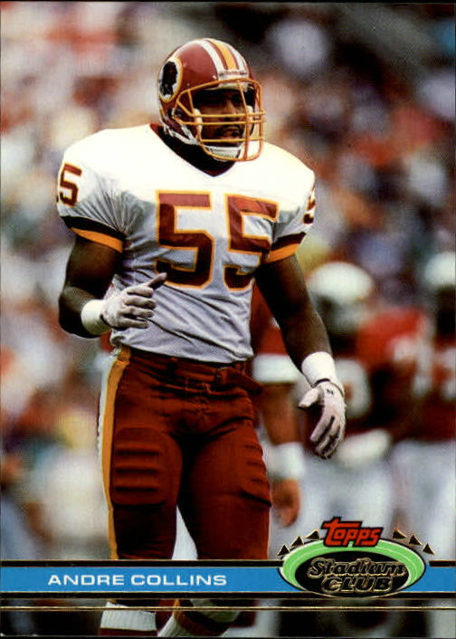 1991 Stadium Club #4 Andre Collins