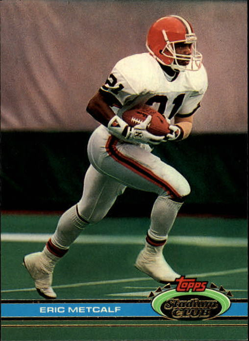 1991 Stadium Club #5 Eric Metcalf