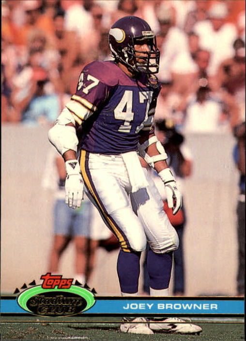 1991 Stadium Club #10 Joey Browner