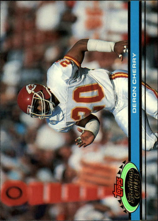 1991 Stadium Club #28 Deron Cherry