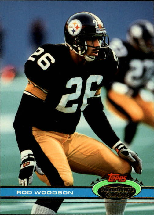 1991 Stadium Club #30 Rod Woodson